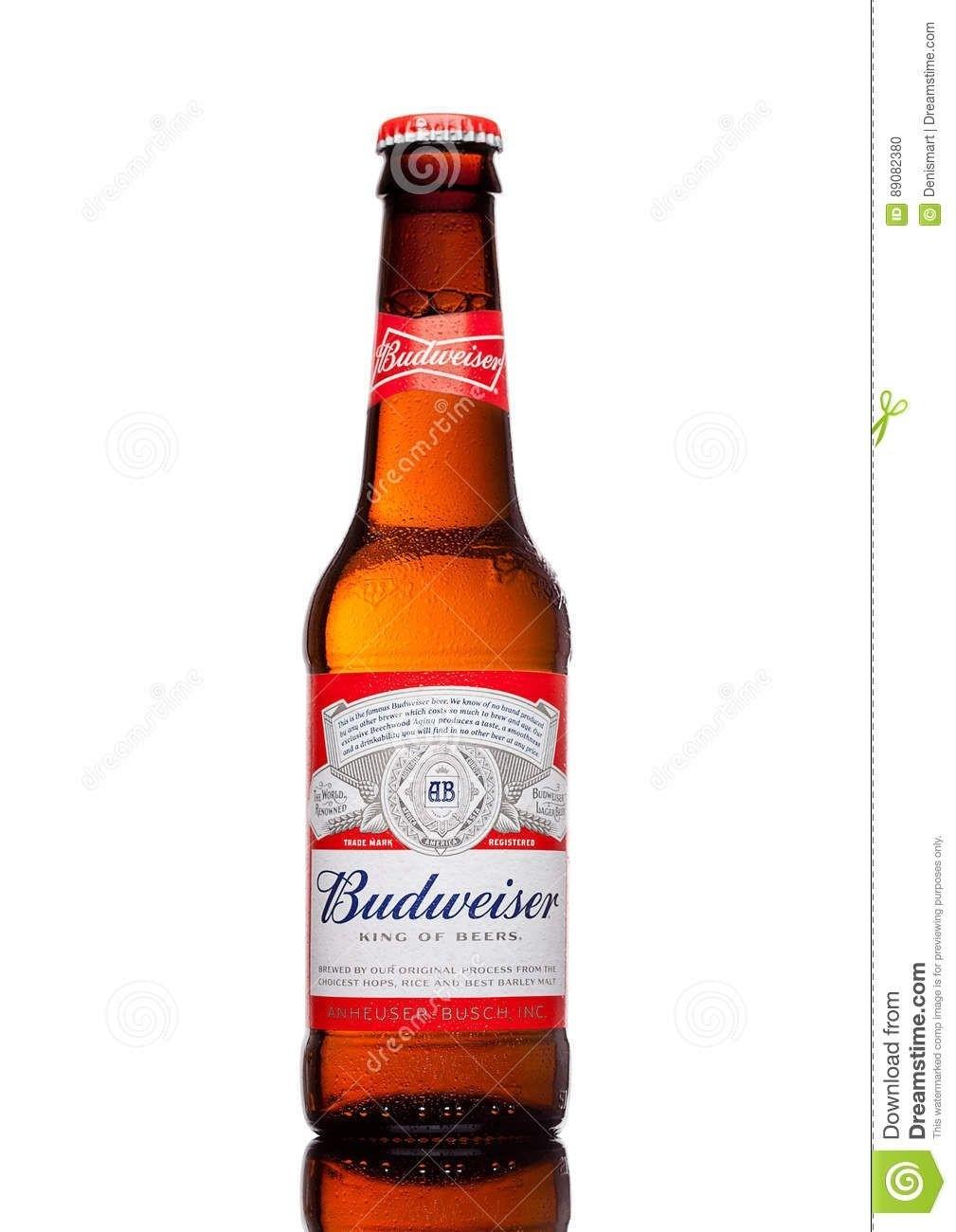 Budweiser 12 oz bottle