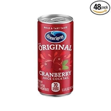 Cranberry Juice 6oz can