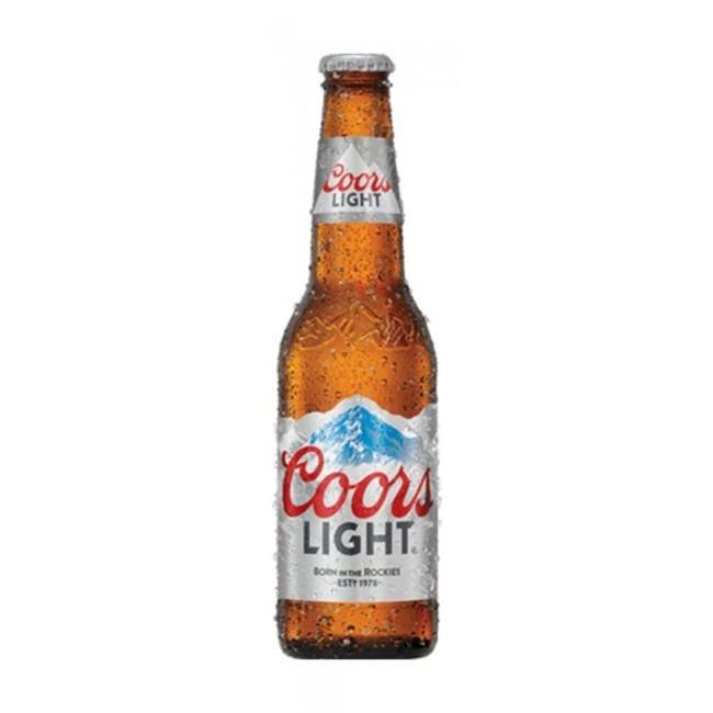 Coors Light 12 oz bottle