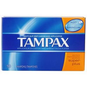 Tampax Tampons 10 pack Super Plus